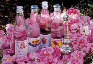 A lovely selection of rosewater