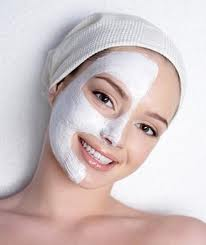unlike this lady I recommend putting the mask on all over your face!
