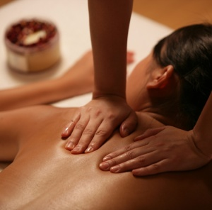 nothing like a massage with grapefruit oil