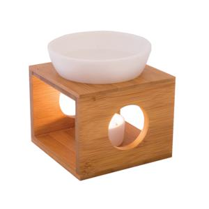 Classic oil burner with candle