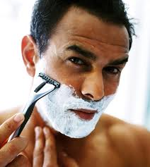 Try oil after you shave - or even before!