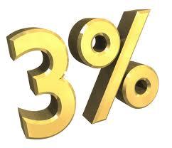 3% of essential oils in the bottle of jojoba