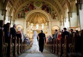 a more formal church wedding