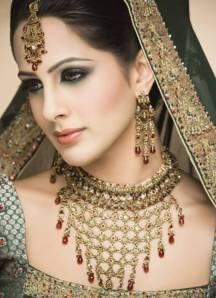 a beautiful Indian bride