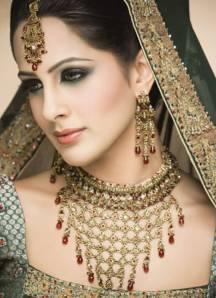 a beautiful Indian bride