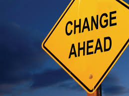 change ahead - if you want....