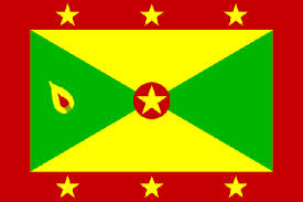 The flag of Grenada