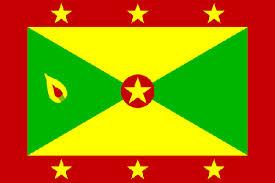 The flag of Grenada