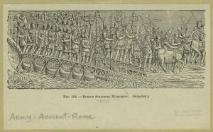 Illustration of a Roman army