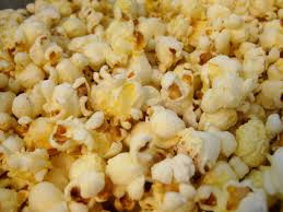 You can find the scent of popcorn in a fragrant oil.