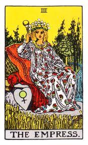 The Empress - III The Rider-Waite Tarot