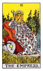 The Empress - III The Rider-Waite Tarot