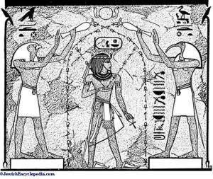 Anointing with sacred oils in the time of the Pharoahs pic via www.jewishencyclopedia.com
