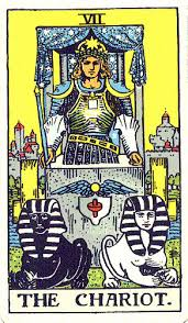 The Chariot - #7 in the Rider-Waite tarot deck