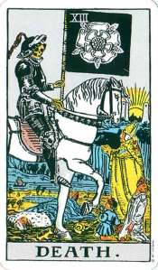 Death - XIII in from the Rider-Waite deck