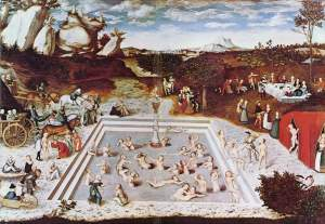 The Fountain of Youth by Lucas Cranach the Elder. pic via en.wikipedia.com