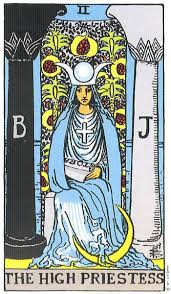 The High Priestess - II from the Rider-Waite Deck