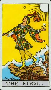 The Fool - 0 - From the Rider-Waite Deck