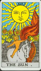 The Sun - XIX from the Rider-Waite Deck