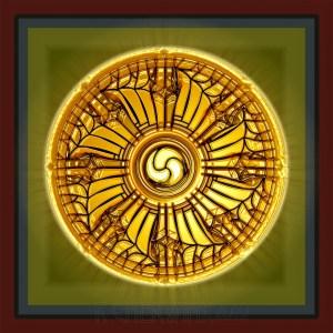 The Buddhist Dharma Wheel - pic via rceezwhatzmore.blogspot.com