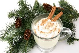 Eggnog - a warming drink best with all the great spices! pic via www.localnomad.com