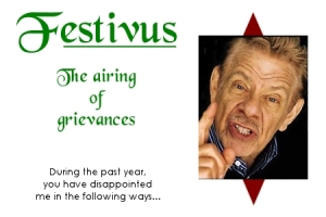 Happy Festivus! pic via