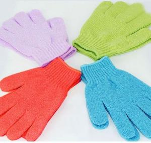 Exfoliating Gloves - pic via www.aliexpress.com