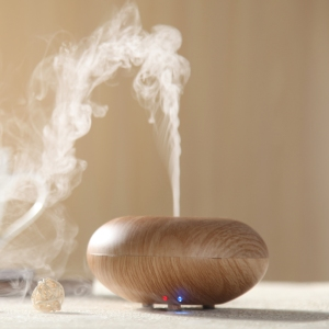 There are lots of great essential oil diffusers on the market now - pic via www.aliexpress.com