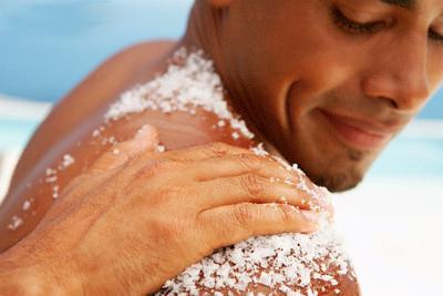 Salt scrub - pic via themethuselahcenter.com