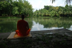 Meditation creates positive ripples in your environment