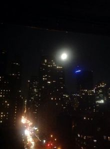 My friend Frank took this is NYC the other night - Aquarius supermoon