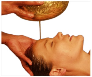 A warm oil mask can work wonders for an unhappy camper - pic via anshayurveda.com