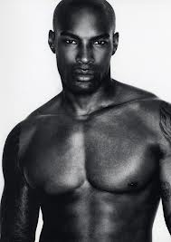 Tyson Beckford being ridiculously good looking