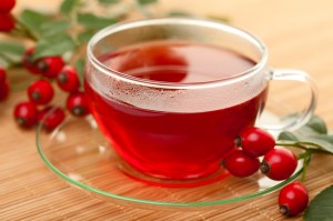 Delicious rosehip tea - pic via www.therosehipcompany.com
