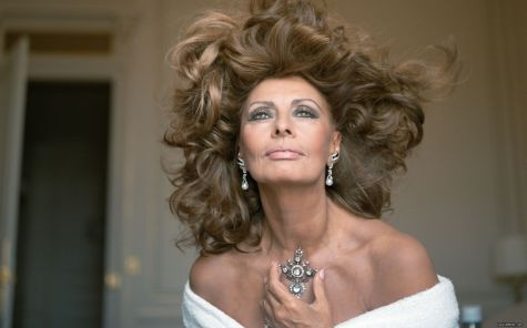 The beautiful Sophia Loren
