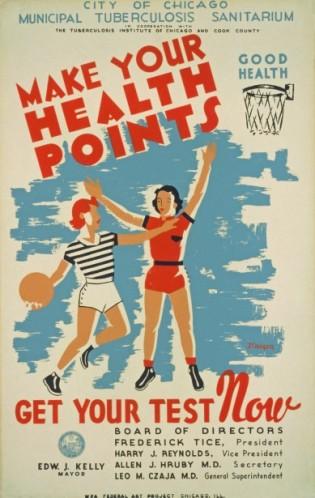 Cool vintage health poster