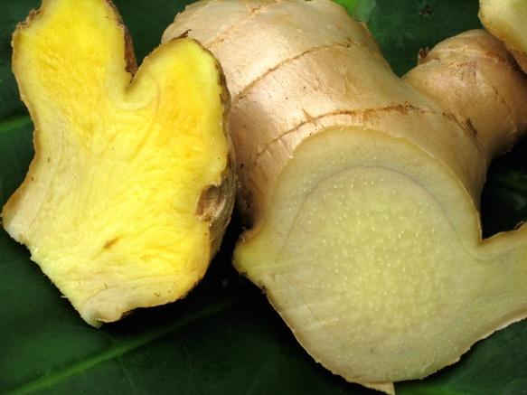 Warming ginger root