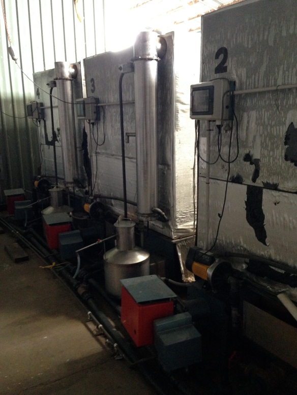 Distilling vats