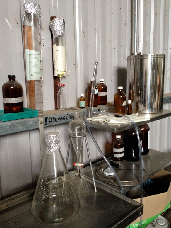 Ooo glass measuring equipment!