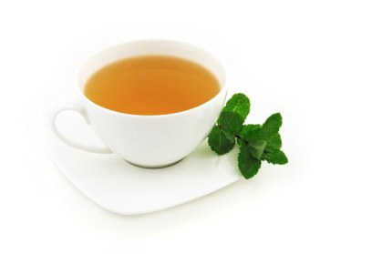 A cup of peppermint tea could do the trick as well