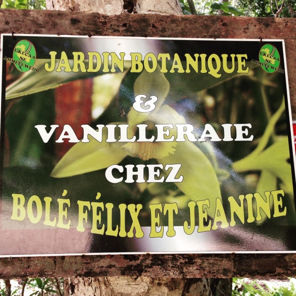 The vanilleraie on Lifou