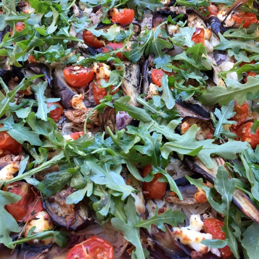 Gluten free Mediterranean slice from Kitchen Green