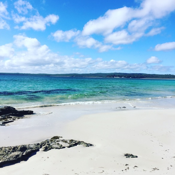 Hyams Beach south of Sydney still holds the Guinness Book of Records whitest sand in the world!